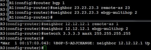 ebgp multihop 3