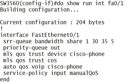 Implementing QoS on Cisco Switch   Miftah Rahman (Go)-Blog