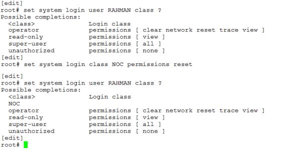 JunOS Basic Configuration | Miftah Rahman (Go)-Blog