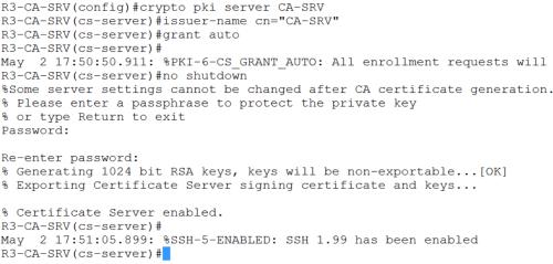 crypto pki server